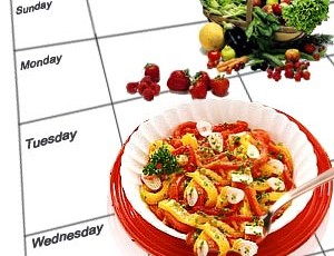 Simplified Weekly Meal Plan