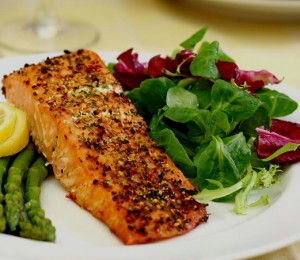 Paleo Plan's Almond Crusted Salmon