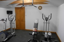David B Home Gym – Joist Mounted Pull Up Bar