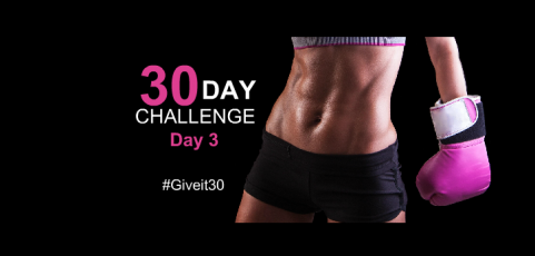 30 Day Workout Challenge – Day 3