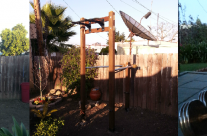 Brian M Home Gym – Outdoor Pull Up Bar