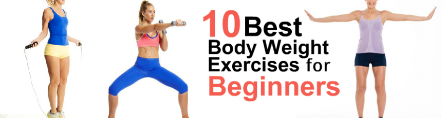 10 Great Exercises for Beginners