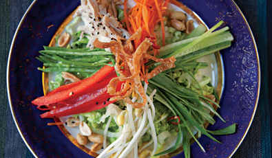 Light & Fresh Asian Chicken Salad Recipe